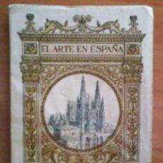 Libros antiguos: 1930 ? CATEDRAL DE BURGOS - COLECCIÓN THOMAS Nº 1 / 48 ILUSTRACIONES. Lote 35053883