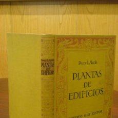 Libros antiguos: COMPOSICION DE PLANTAS DE EDIFICIOS. TRATADO ANALITICO PARA USO DE ARQUITECTOS Y CONSTRUCTORES. 1926. Lote 35139963