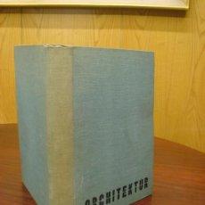 Libros antiguos: MONATSHEFTE FÜR BAUKUNST UND STÄDTEBAU. XVIII. JAHRGANG, 1935. Lote 35140362
