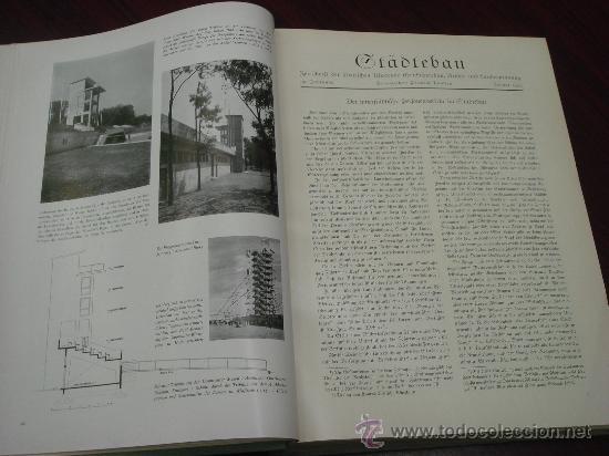 Libros antiguos: MONATSHEFTE FÜR BAUKUNST UND STÄDTEBAU. XVIII. Jahrgang, 1935 - Foto 4 - 35140362