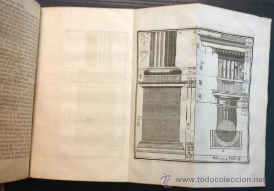 Libros antiguos: ESCUELA DE ARQUITECTURA CIVIL. ATANASIO GENARO BRIZGUZ Y BRU. VALENCIA 1804. 54 LÁMINAS. DESCRIPCIÓN - Foto 3 - 35435551