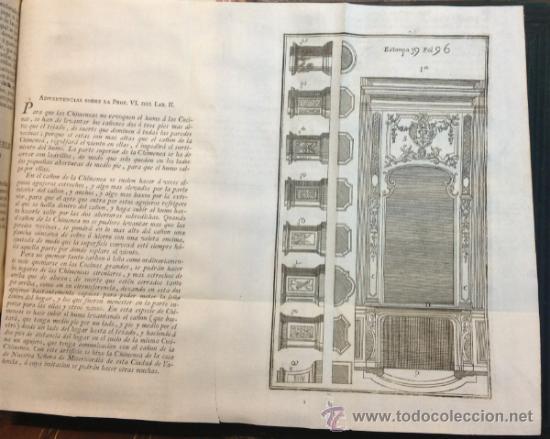 Libros antiguos: ESCUELA DE ARQUITECTURA CIVIL. ATANASIO GENARO BRIZGUZ Y BRU. VALENCIA 1804. 54 LÁMINAS. DESCRIPCIÓN - Foto 5 - 35435551