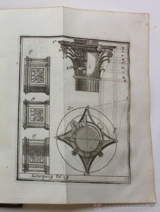 Libros antiguos: ESCUELA DE ARQUITECTURA CIVIL. ATANASIO GENARO BRIZGUZ Y BRU. VALENCIA 1804. 54 LÁMINAS. DESCRIPCIÓN - Foto 7 - 35435551