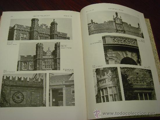 Libros antiguos: ARCHITECTURE,THE PROFESSIONAL ARCHITECTURAL MONTHLY. Vol. LXIII y LXIV. 1931. 2 Tomos. - Foto 11 - 35666396