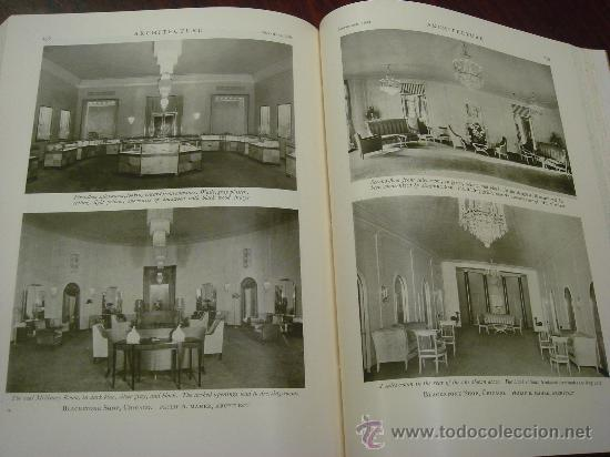 Libros antiguos: ARCHITECTURE,THE PROFESSIONAL ARCHITECTURAL MONTHLY. Vol. LXI y LXII. 1930. 2 Tomos. - Foto 11 - 35666353