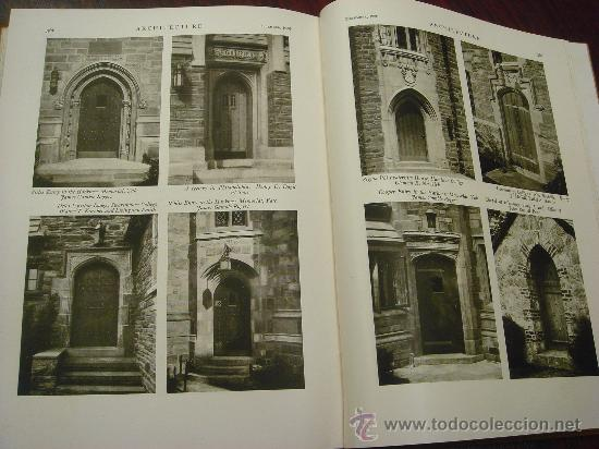 Libros antiguos: ARCHITECTURE,THE PROFESSIONAL ARCHITECTURAL MONTHLY. Vol. LXI y LXII. 1930. 2 Tomos. - Foto 13 - 35666353