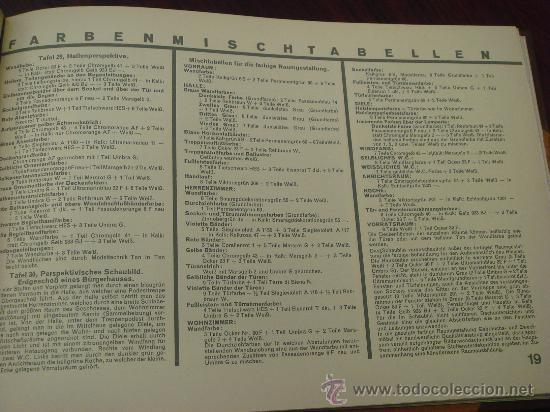 Libros antiguos: FARBIGE RAUME UND BAUTEN. 1929?. - Foto 7 - 35666093