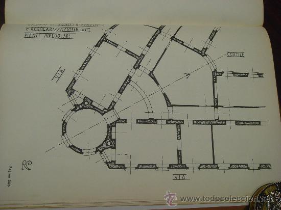 Libros antiguos: ELEMENTI DI COMPOSIZIONE DEGLI EDIFICI CIVILI. Vol. 1º. 1935 - Foto 8 - 35666015
