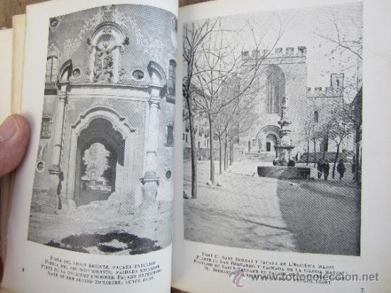Libros antiguos: catalunya artistica numero 2 - monestir de santes creus 1929 - Foto 6 - 36737337