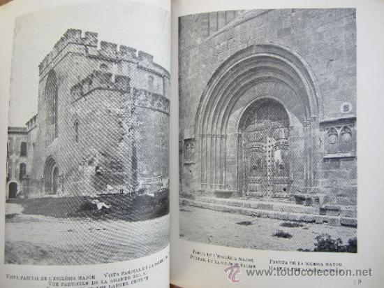Libros antiguos: catalunya artistica numero 2 - monestir de santes creus 1929 - Foto 7 - 36737337
