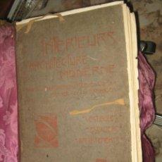 Libros antiguos: LIBRO DE PP. DEL SIGLO XX - ARQUITECTURA Y DECORACION DE INTERIORES - LAMINAS - 47 CM. X 32 CM.. Lote 37137871
