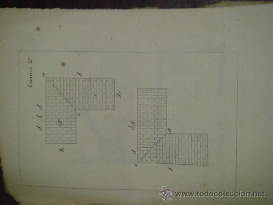 Libros antiguos: MANUAL PRÁCTICO DEL ARTE DE EDIFICAR. 1851. 2ª Edición. - Foto 5 - 37528458