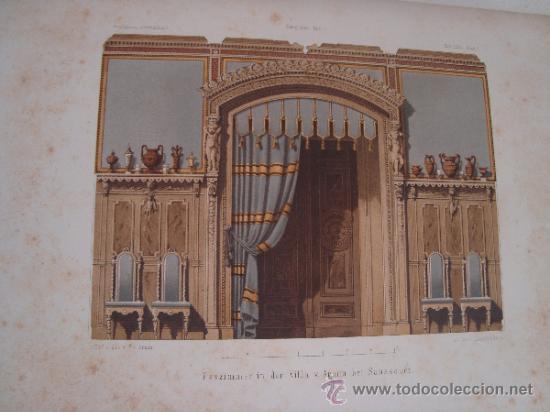 Libros antiguos: 6 GRABADOS DE ARQUITECTURA PUBLICADOS POR Ernst & korn Berlín 1865 - Foto 4 - 37626114