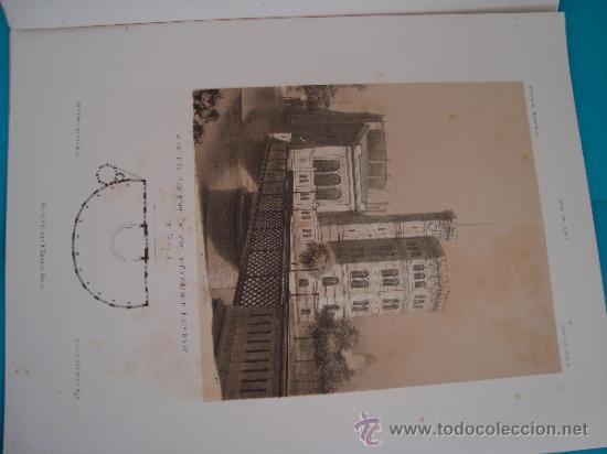 Libros antiguos: 6 GRABADOS DE ARQUITECTURA PUBLICADOS POR Ernst & korn Berlín 1865 - Foto 7 - 37626114