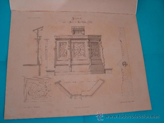 Libros antiguos: 6 GRABADOS DE ARQUITECTURA PUBLICADOS POR Ernst & korn Berlín 1865 - Foto 9 - 37626114