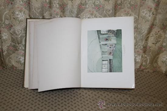 Libros antiguos: 3451- 120 INTERIEURS EN COLEURS. VV.AA. EDIT. LIB D'ARCHITECTURE DUCHER. S/F. - Foto 2 - 37780213