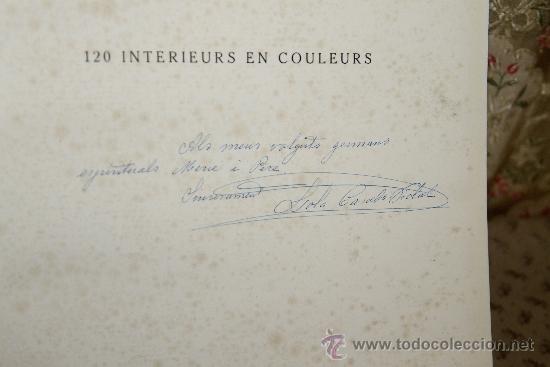 Libros antiguos: 3451- 120 INTERIEURS EN COLEURS. VV.AA. EDIT. LIB D'ARCHITECTURE DUCHER. S/F. - Foto 4 - 37780213