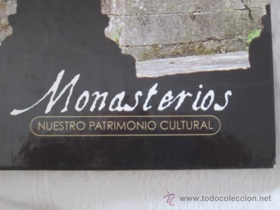 Libros antiguos: MONASTERIOS. EDICIONES RUEDA. NUESTRO PATRIMONIO CULTURAL. - Foto 3 - 38029225