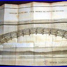 Libros antiguos: AÑO 1778. LIBRO DEL SIGLO XVIII SOBRE PUENTES Y OTROS TEMAS.. Lote 38289198