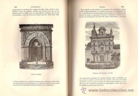 Libros antiguos: ESTUDIO DESCRIPTIVO MONUMENTOS ÁRABES – AÑO 1878 - Foto 3 - 38233355