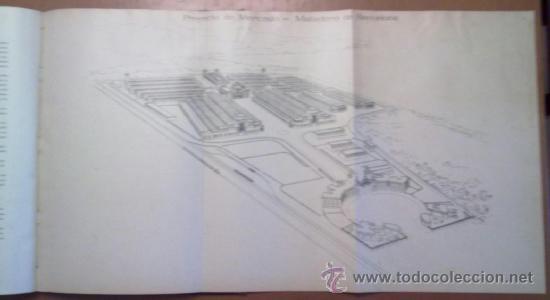 Libros antiguos: PROYECTO DE MERCADO - MATADERO PARA BARCELONA. 1907 PERE FALQUES ARQUITECTO. URBANISMO - Foto 3 - 38533994