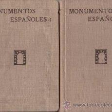 Old books - MONUMENTOS ESPAÑOLES. Catálogo de los declarados nacionales, arquitectónicos e histórico-artísticos - 39074120