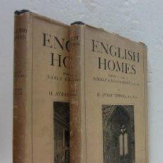 Libros antiguos: 2 TOMOS ENGLISH HOMES - COUNTRY LIFE - PRIMERA EDICION 1921. Lote 39487485