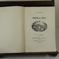 Libros antiguos: 4030- PEDRALBES. BUENAVENTURA BASSEGODA. EDIT. FARRE Y ASENSIO. 1922.. Lote 39915417