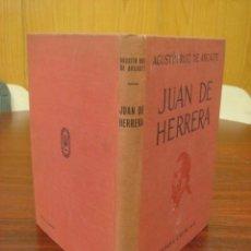 Libros antiguos: JUAN DE HERRERA ARQUITECTO DE FELIPE II. 1936. 1ª EDICION.. Lote 40568605