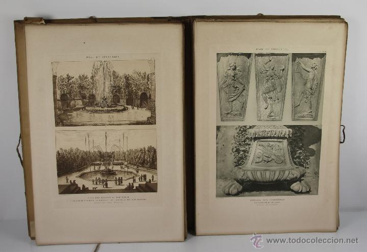 Libros antiguos: 4226- LE CHATEAU DE VERSAILLES Y LE PARC DE VERSAILLES. GASTON BRIERE. LIB. DES BEUS ARTS. 3 VOL - Foto 4 - 41025442