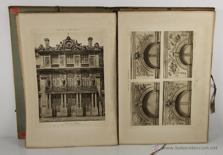 Libros antiguos: 4226- LE CHATEAU DE VERSAILLES Y LE PARC DE VERSAILLES. GASTON BRIERE. LIB. DES BEUS ARTS. 3 VOL - Foto 8 - 41025442
