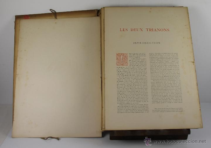 Libros antiguos: 4240- LES GRANDS PALAIS DE FRANCE LES TRIANONS. PIERRE DE NOLHAC. LIB. CENTRALE. S/F. - Foto 2 - 41039470