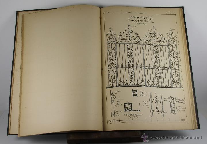 Libros antiguos: 4244- ENGLISH AND SCOTTISH WROUGHT IRONWORK. BAILEY SCOTT. EDIT. B.T. BATSFORD. 1904. - Foto 3 - 41041384