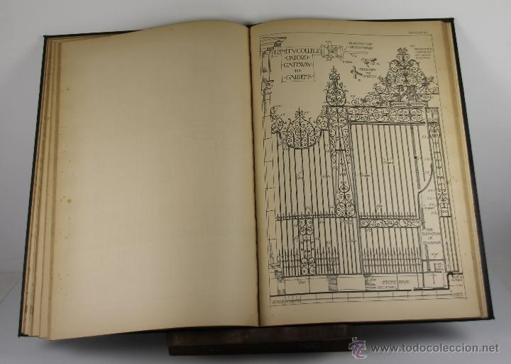 Libros antiguos: 4244- ENGLISH AND SCOTTISH WROUGHT IRONWORK. BAILEY SCOTT. EDIT. B.T. BATSFORD. 1904. - Foto 4 - 41041384