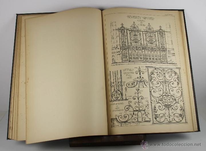 Libros antiguos: 4244- ENGLISH AND SCOTTISH WROUGHT IRONWORK. BAILEY SCOTT. EDIT. B.T. BATSFORD. 1904. - Foto 5 - 41041384