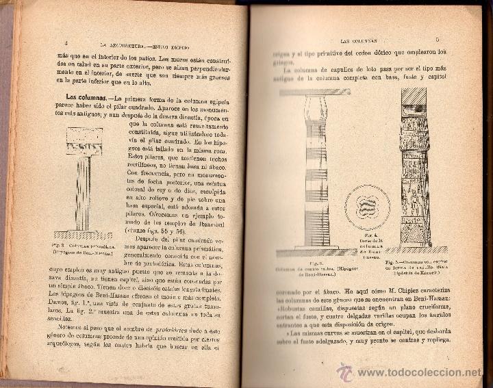 Libros antiguos: EL TRABAJO EN LA ANTIGÜEDAD II. ARQUITECTURA - COMERCIO BELLAS ARTES. RENÉ MENARD Y CLAUDE SAUVAGEOT - Foto 2 - 41108045