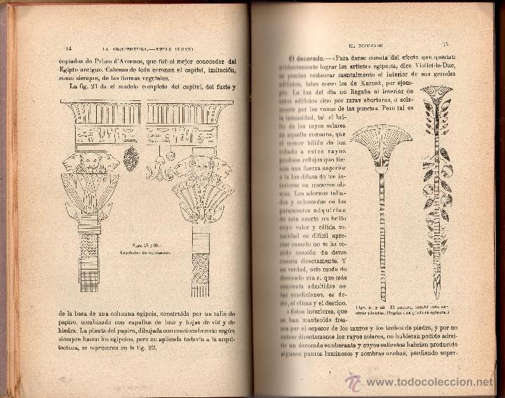Libros antiguos: EL TRABAJO EN LA ANTIGÜEDAD II. ARQUITECTURA - COMERCIO BELLAS ARTES. RENÉ MENARD Y CLAUDE SAUVAGEOT - Foto 4 - 41108045
