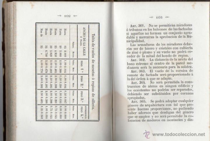 Libros antiguos: ORDENANZAS MUNICIPALES PARA EL RÉGIMEN DE LA CIUDAD DE LÉRIDA (1866). - Foto 9 - 41457562