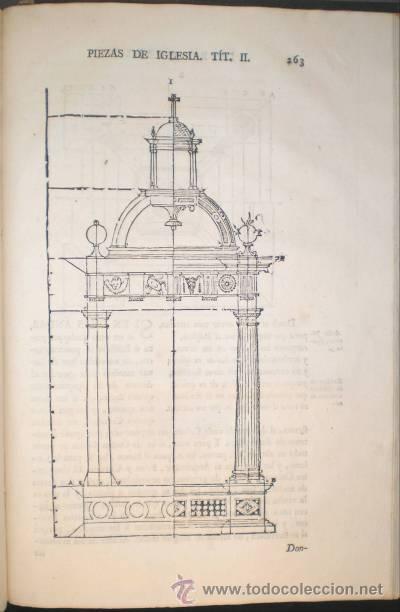 Libros antiguos: ARPHE Y VILLAFAÑE, Juan de: VARIA COMMENSURACION PARA LA ESCULTURA Y ARQUITECTURA. 1795 - Foto 9 - 41460252