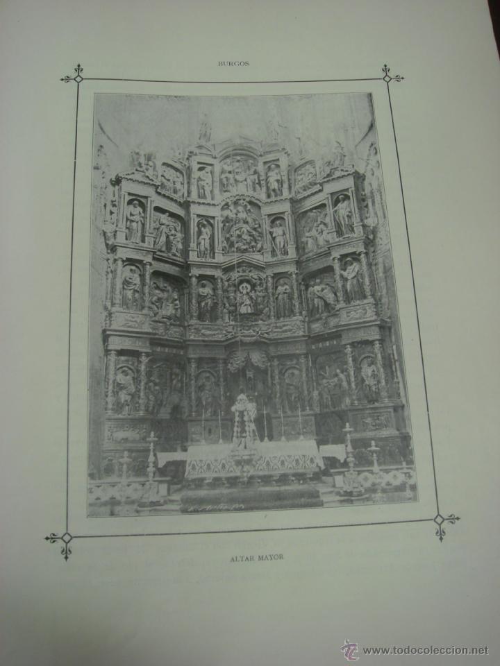 Libros antiguos: LAS GRANDES CATEDRALES DE EUROPA. BURGOS. 1914. DELFIN FERNANDEZ Y GONZALEZ. - Foto 7 - 41642106