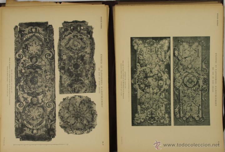 Libros antiguos: 4572- ETOFFES ET TAPISERIES DAMEUBLEMENT DES XVII ET XVIII SIECLES. ERNEST DUMONTHIER. EDIT. MASSIN - Foto 3 - 42278896