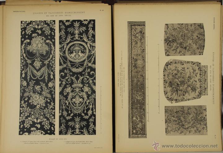 Libros antiguos: 4572- ETOFFES ET TAPISERIES DAMEUBLEMENT DES XVII ET XVIII SIECLES. ERNEST DUMONTHIER. EDIT. MASSIN - Foto 4 - 42278896
