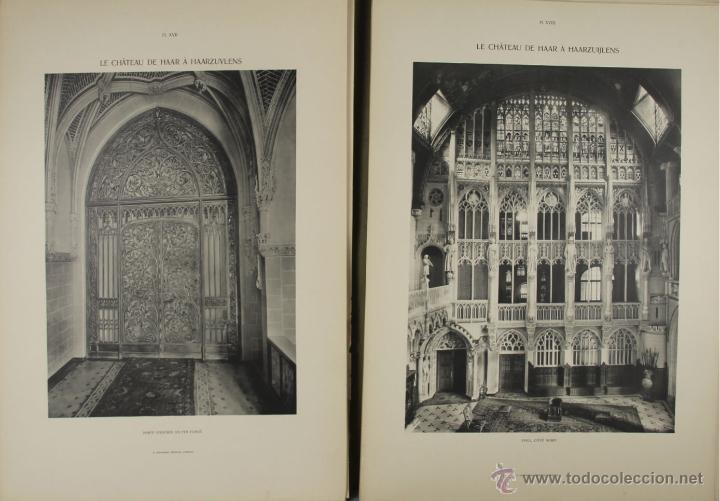 Libros antiguos: 4573. LE CHATEAU DE HASSR A HASSRZUYLENS. P.J.H. CUYPERS. EDIT. OOSTHOEK. 1910. - Foto 4 - 42279321