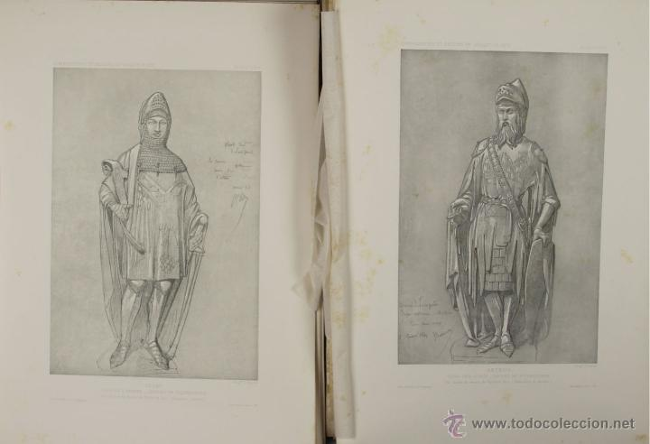 Libros antiguos: 4576- COMPOSITIONS ET DESSINS DE VIOLLET LE DUC. VV.AA. EDIT. LIB. CENTRALE 1884. - Foto 3 - 42283904
