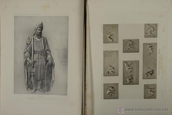 Libros antiguos: 4576- COMPOSITIONS ET DESSINS DE VIOLLET LE DUC. VV.AA. EDIT. LIB. CENTRALE 1884. - Foto 4 - 42283904