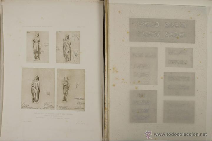 Libros antiguos: 4576- COMPOSITIONS ET DESSINS DE VIOLLET LE DUC. VV.AA. EDIT. LIB. CENTRALE 1884. - Foto 5 - 42283904