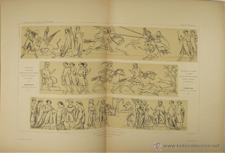 Libros antiguos: 4576- COMPOSITIONS ET DESSINS DE VIOLLET LE DUC. VV.AA. EDIT. LIB. CENTRALE 1884. - Foto 6 - 42283904