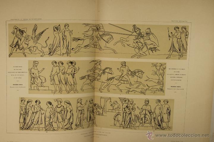 Libros antiguos: 4576- COMPOSITIONS ET DESSINS DE VIOLLET LE DUC. VV.AA. EDIT. LIB. CENTRALE 1884. - Foto 7 - 42283904