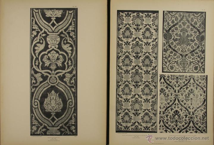 Libros antiguos: 4577. MUSEE DES ARTS DECORATIFS. TISSUS DE LYON. EDIT. CALAVAS. 1908. - Foto 2 - 42321494