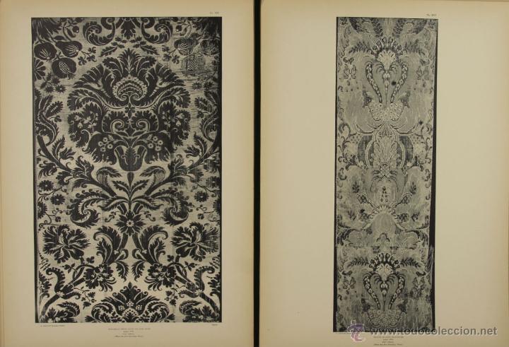 Libros antiguos: 4577. MUSEE DES ARTS DECORATIFS. TISSUS DE LYON. EDIT. CALAVAS. 1908. - Foto 3 - 42321494
